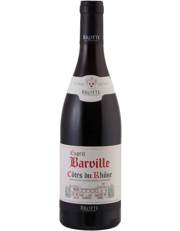 """Brotte """"Esprit Barville"""" Côtes du Rhône AOC"""