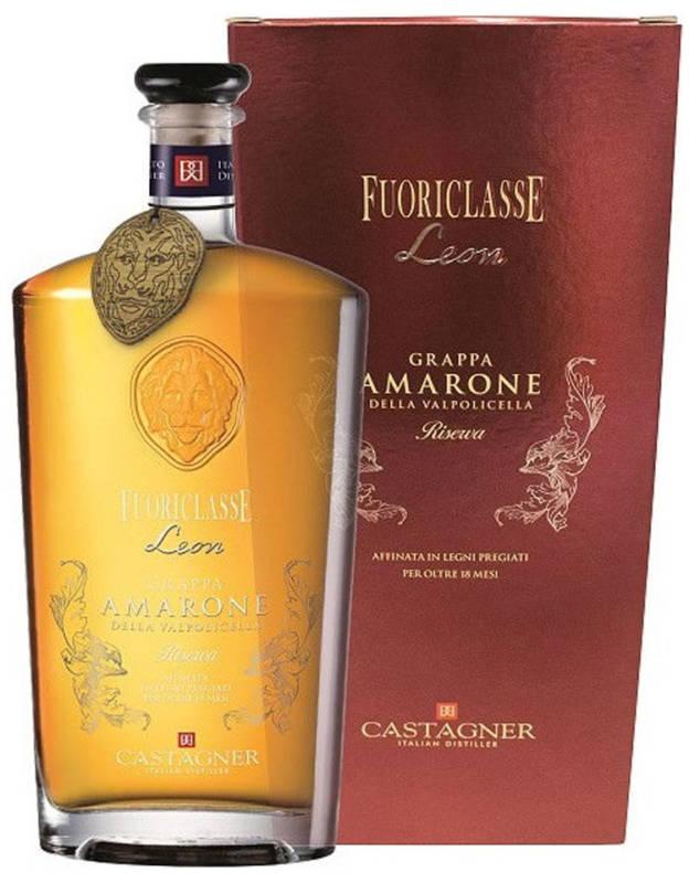 Castagner Grappa Fuoriclasse Leon Amarone della Valpolicella Riserva (700 ml)