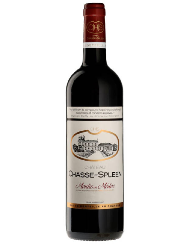 Château Chasse-Spleen, Moulis en Medoc Cru Bourgeois Exceptionnel AOC