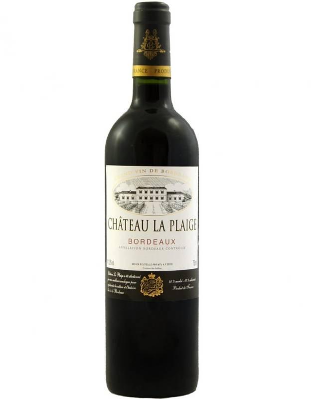 Château La Plaige Bordeaux AOC